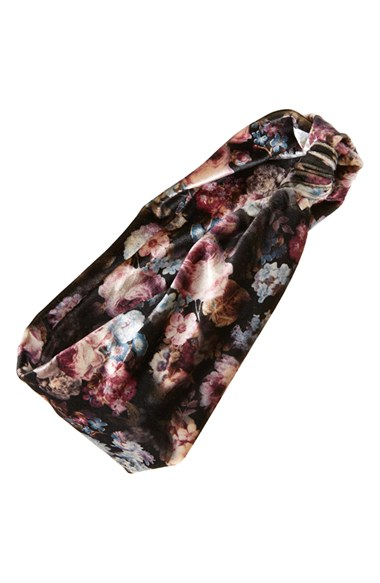 Nordstrom_Floral-Print-Head-Wrap_purple