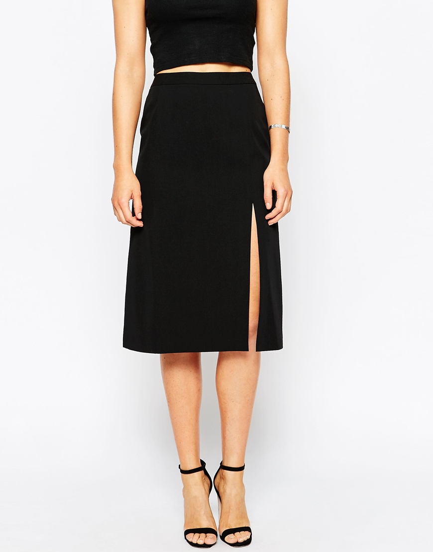 ASOS-A-Line-Skirt-with-Split-Detail